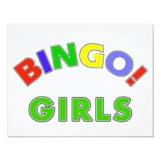 Bingo Girls Card