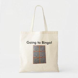 Bingo, Going to Bingo! Tote Bag