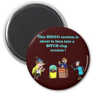 Bingo Gone Bad Magnet