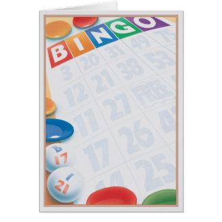 Bingo © greeting card