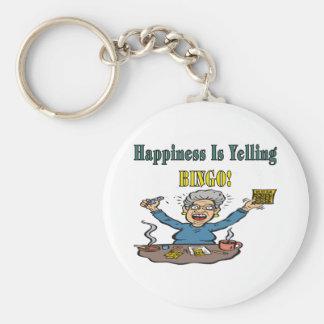 Bingo: Happiness Is Key Ring