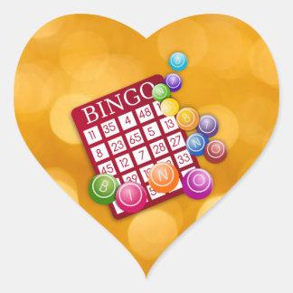 Bingo Heart Sticker