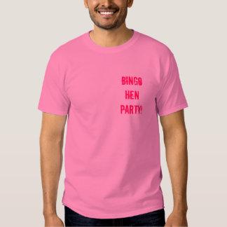 Bingo Hen Party! T-shirts