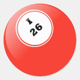 Bingo I-26 Sticker