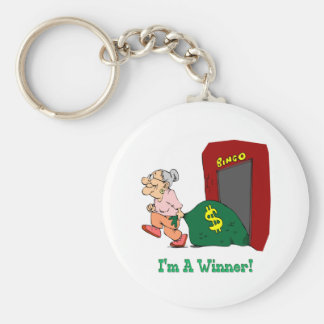 Bingo - I'm A Winner Key Ring