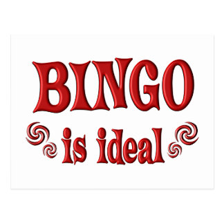 Bingo is Ideal Postcard