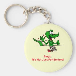 Bingo -It's Not Just For Seniors Key Ring
