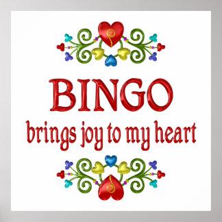 Bingo Joy Poster