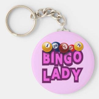 BINGO LADY KEY RING