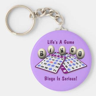 Bingo: Life's A Game Key Ring