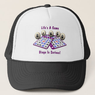 Bingo: Life's A Game Trucker Hat