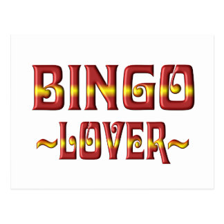 BINGO LOVER POSTCARD
