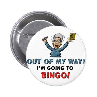Bingo Lovers Buttons