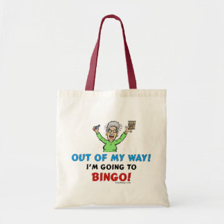 Bingo Lovers Budget Tote Bag