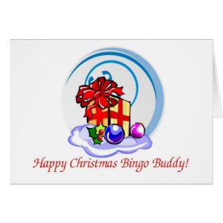 Bingo lover's Christmas card