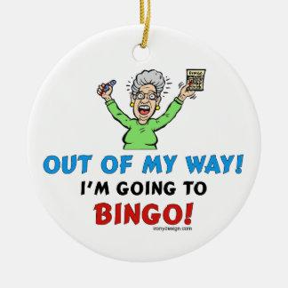 Bingo Lovers Christmas Ornament