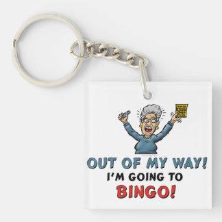 Bingo Lovers Key Ring