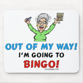 Bingo Lovers Mouse Mat