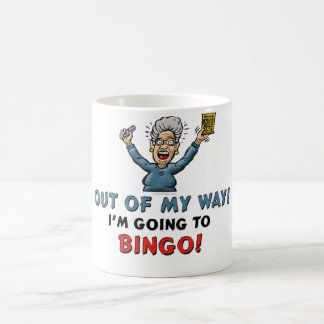 Bingo Lovers Basic White Mug