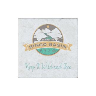 Bingo Marble Magnet