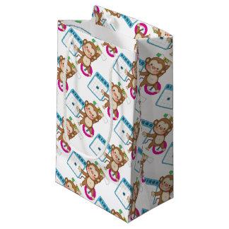 Bingo Monkey small gift bag