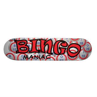 "Bingo ""Name"" over Bingo Balls Skateboard Deck"
