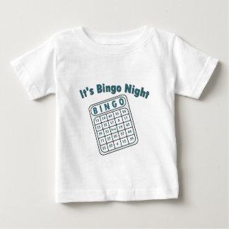 Bingo Night Card Baby T-Shirt