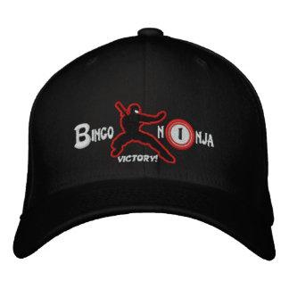 BINGO NINJA flexfit wool cap with URL