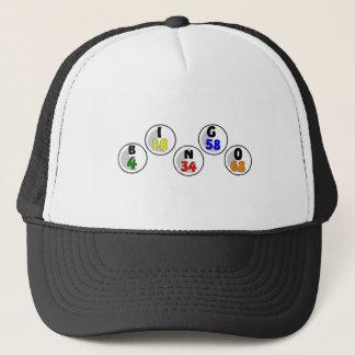 Bingo Numbers Trucker Hat