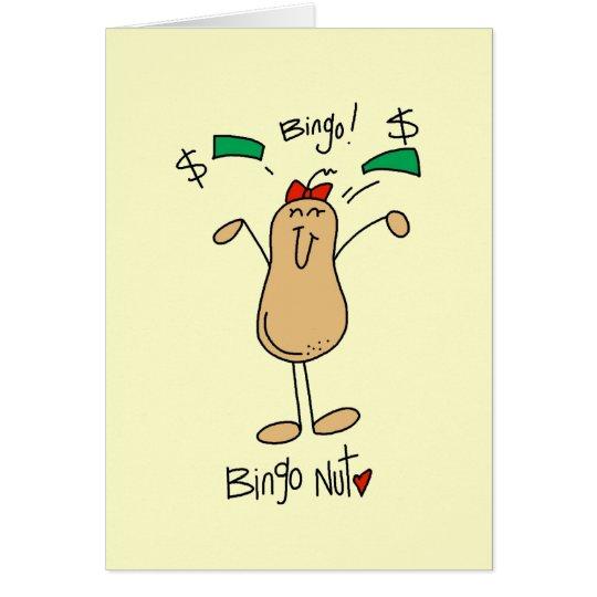 Bingo Nut Tshirts and Gifts Card
