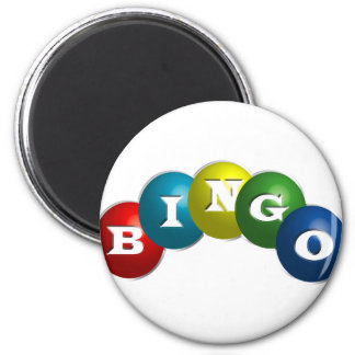 Bingo or Lotto - option to personalize your gear. Magnet