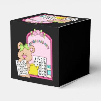Bingo Parlor Bear Favor box