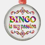 BINGO Passion Christmas Ornament