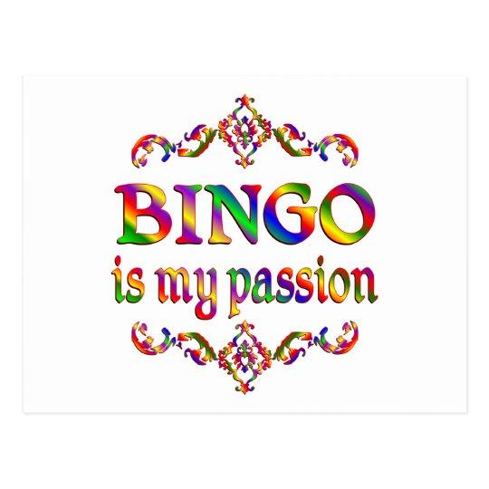 BINGO Passion Postcard