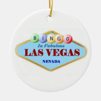 Bingo Player Christmas Ornament