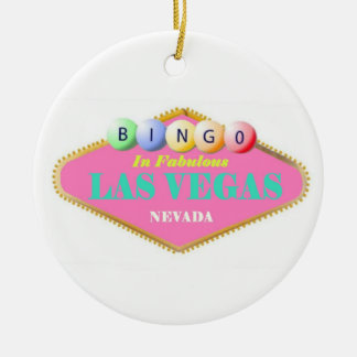 Bingo Player Christmas Ornament
