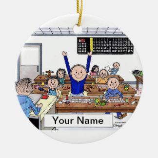 Bingo Player - Male Christmas Ornament