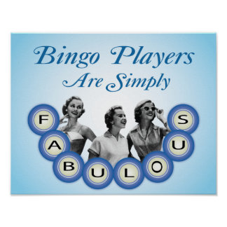 Bingo Players Are Simply Fabulous Poster