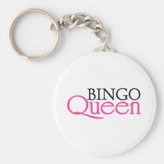 Bingo Queen Key Ring
