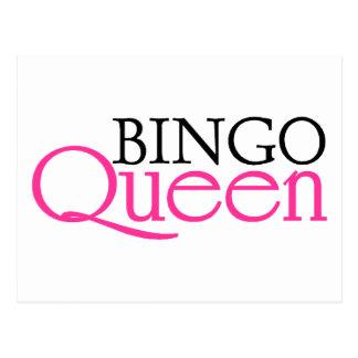 Bingo Queen Postcards