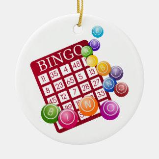bingo rocks christmas ornament