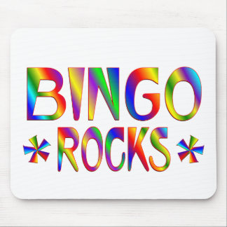 BINGO Rocks Mouse Mat