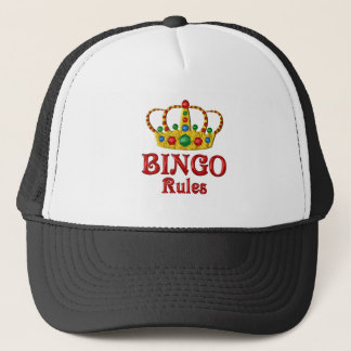 BINGO RULES TRUCKER HAT