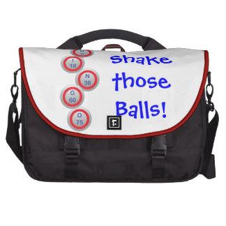 Bingo Shake those Balls Laptop Computer Bag