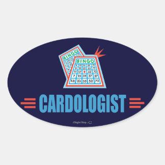 Bingo Oval Sticker