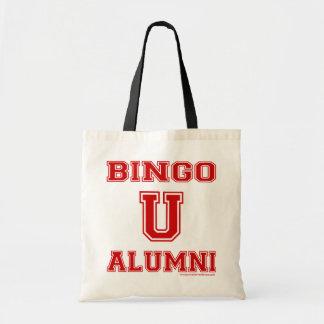 Bingo U Alumni budget tote bag