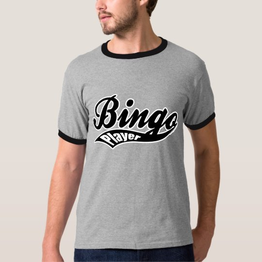 Bingo U Bingo Player ringer t-shirt