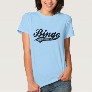 Bingo U sports script baby doll ladies shirt