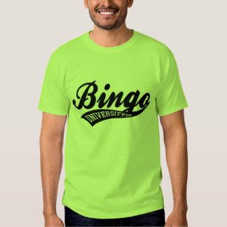 Bingo University Sports swish logo shirt