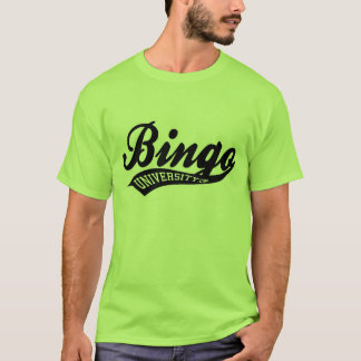 Bingo University Sports swish logo shirt